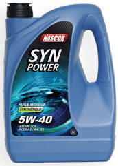 SYNPOWER 5W-40